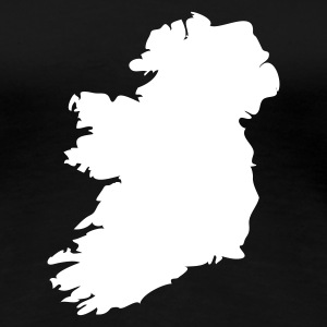 Black Ireland Ladies' - Women's Premium T-Shirt