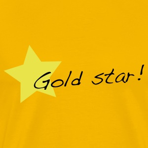 Yellow gold star T-Shirts - Men's Premium T-Shirt