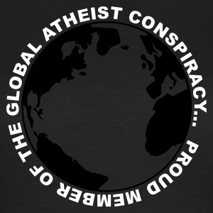 Olive Global Atheist Conspiracy Ladies' - Women's T-Shirt