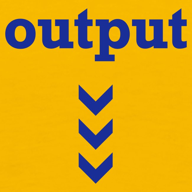 Input / Output (front/back)