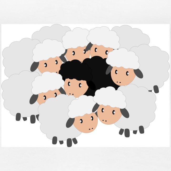 es schwarze Schafele