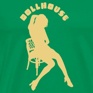 Bottlegreen dollhouse T-Shirt - Männer Premium T-Shirt