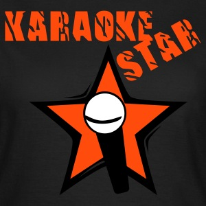 Chocolate karaokestar Girlie - Frauen T-Shirt