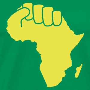 Grasgrün the power of africa T-Shirt - Männer Premium T-Shirt