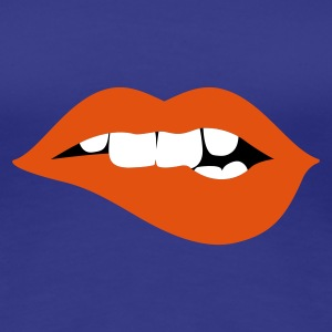 Türkis innocent lips Girlie - Frauen Premium T-Shirt