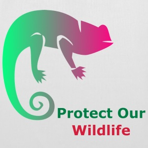 Protect Our Wildlife - Tote Bag