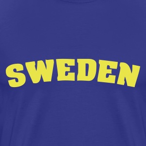 Royal blue Sweden T-Shirts - Men's Premium T-Shirt
