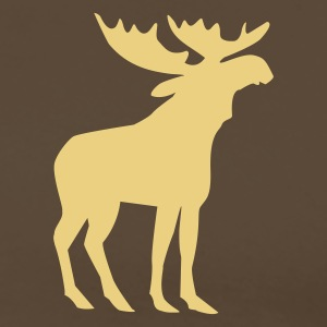 Brown Moose T-Shirts - Men's Premium T-Shirt