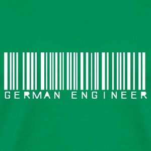 Grasgrün German Engineer T-Shirt - Männer Premium T-Shirt