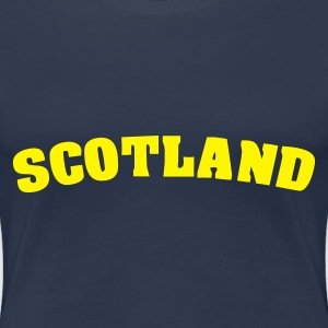 Navy Scotland Ladies' - Women's Premium T-Shirt