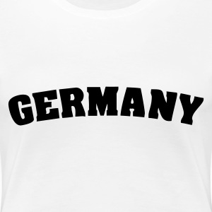 White Germany Ladies' - Women's Premium T-Shirt