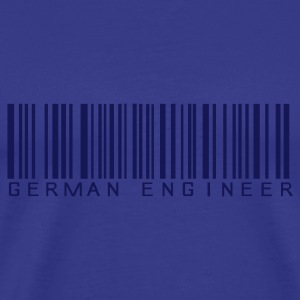 Royalblau German Engineer T-Shirt - Männer Premium T-Shirt