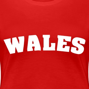 Red Wales Ladies' - Women's Premium T-Shirt