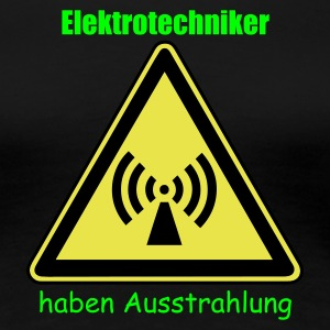 Girly Shirt für Elektrotechniker - Frauen Premium T-Shirt