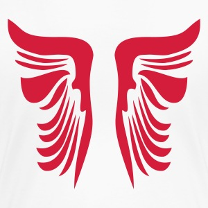 Wit wings Dames t-shirts - Vrouwen Premium T-shirt