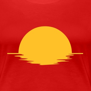 Red Sun Ladies' - Women's Premium T-Shirt
