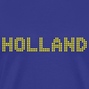 Sky Holland Netherlands Pixel T-Shirts - Men's Premium T-Shirt