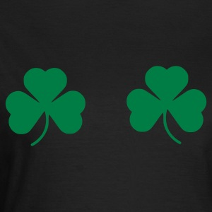 Chocolate Shamrock Ladies' - Women's T-Shirt