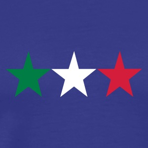 Royal blue italian stars T-Shirts - Men's Premium T-Shirt