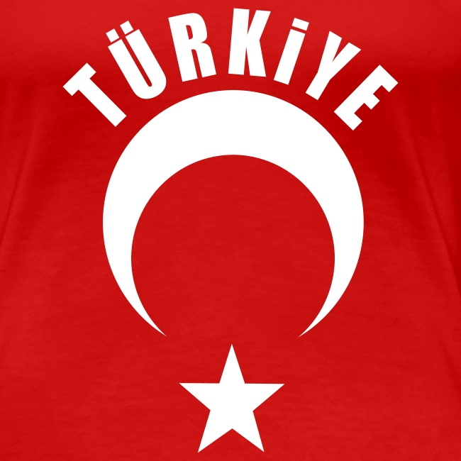 Türkiye Shirt Bayan Kırmızı