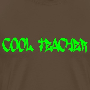 Marron Cool Teacher Hommes - T-shirt Premium Homme