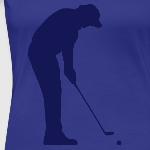 Golf - Frauen Premium T-Shirt