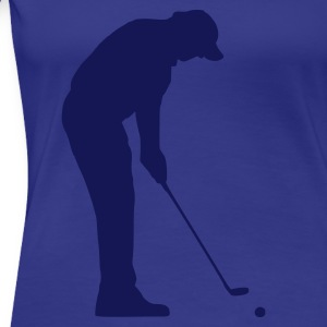 Aqua Golfer Ladies' - Women's Premium T-Shirt