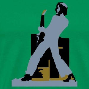 Bottlegreen guitar hero T-Shirts - Men's Premium T-Shirt