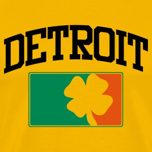 Detroit Irish - Männer Premium T-Shirt