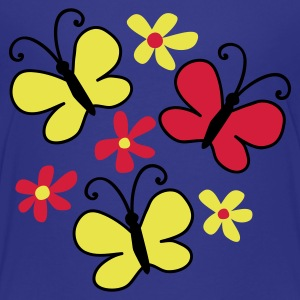 Blue butterflies Juniors - T-shirt Premium Ado