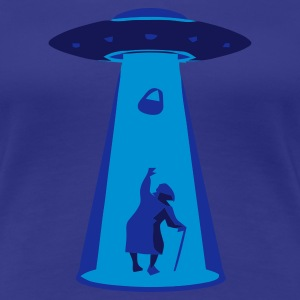 Aqua UFO handbag Ladies' - Women's Premium T-Shirt