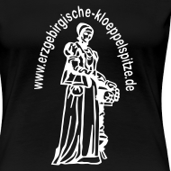 Motiv ~ Erzgebirgische Klöppelspitze schwarz/female
