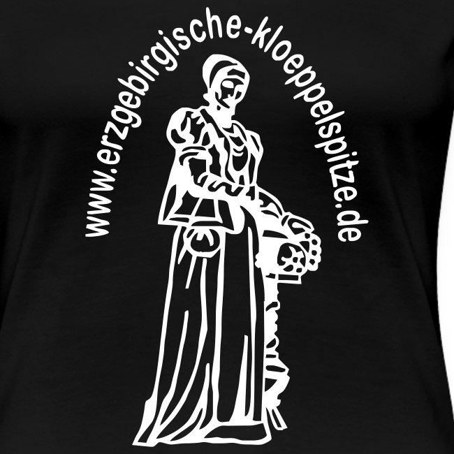 Erzgebirgische Klöppelspitze schwarz/female