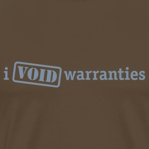 I void warranties - Men's Premium T-Shirt