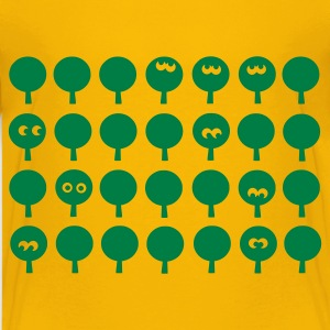 Yellow forest Kid's Shirts  - Teenage Premium T-Shirt