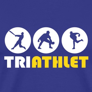 Sky Triathlet T-Shirts - Men's Premium T-Shirt