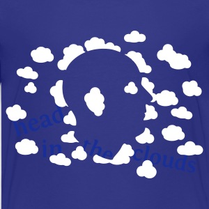 Sky Den Kopf in den Wolken Kinder Shirts - Teenager Premium T-Shirt