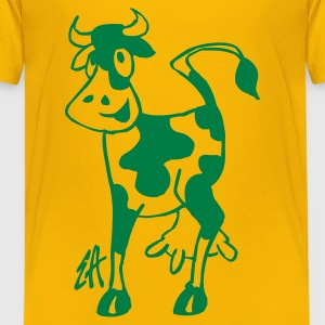 Cow - Teenage Premium T-Shirt