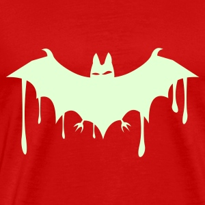 Burgundy red BAT_fledermaus T-Shirts - Men's Premium T-Shirt