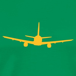 Bottlegreen plane T-shirts - Mannen Premium T-shirt