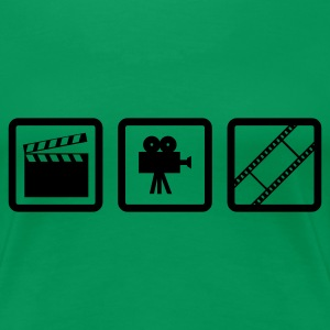 Grass grün Hollywood Gear T-Shirts (Kurzarm) - Frauen Premium T-Shirt