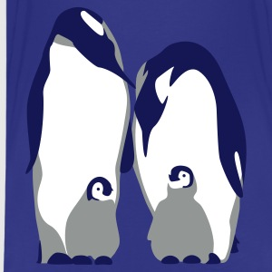 Sky Pinguin-Familie, 3c Kinder Shirts - Teenager Premium T-Shirt