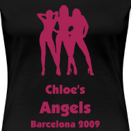 Design ~ Angels - Personalised Text Front & Back