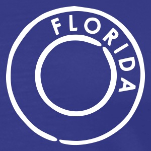 Royal blue Florida Men's Tees - Men's Premium T-Shirt