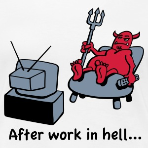 Bored devil - Frauen Premium T-Shirt