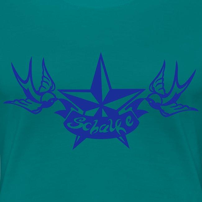 """Schalke Tattoo"" Girlie"
