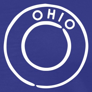Bleu royal Ohio T-shirts - T-shirt Premium Homme