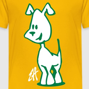 Hond, puppy - Teenager Premium T-shirt