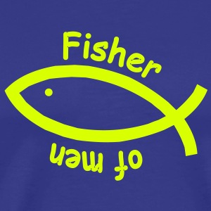 Fisher of men (JESUS shirts) - Männer Premium T-Shirt