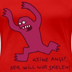 Monster - Frauen Premium T-Shirt